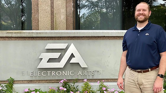 Meet the Grad Who Helps Athletes Score Touchdowns in Video Games Thumbnail Image